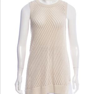 Vince off white sleeveless top
